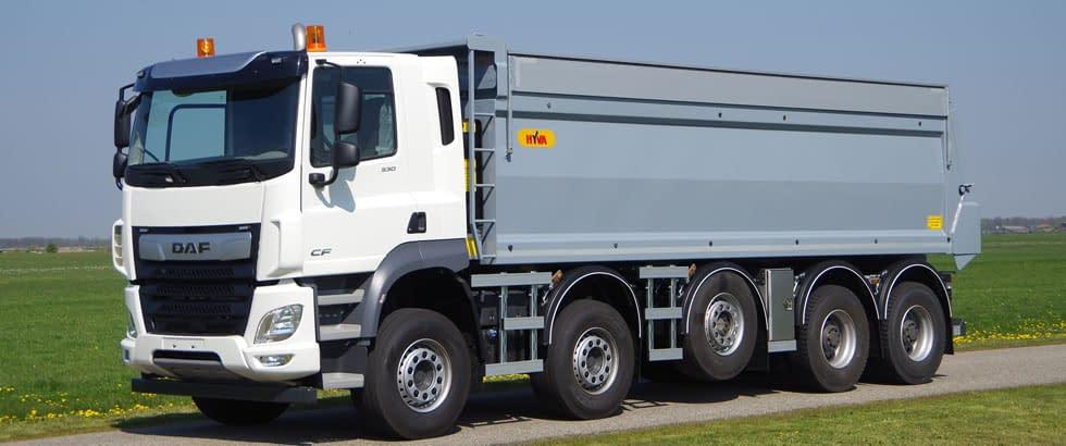 DAF-10x4 groenekan IVECO 10x4