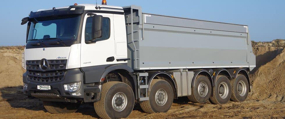 landbouw vrachtwagen bouwvoertuig huren